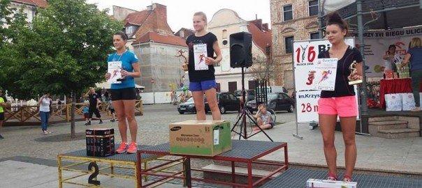 Aneta podium