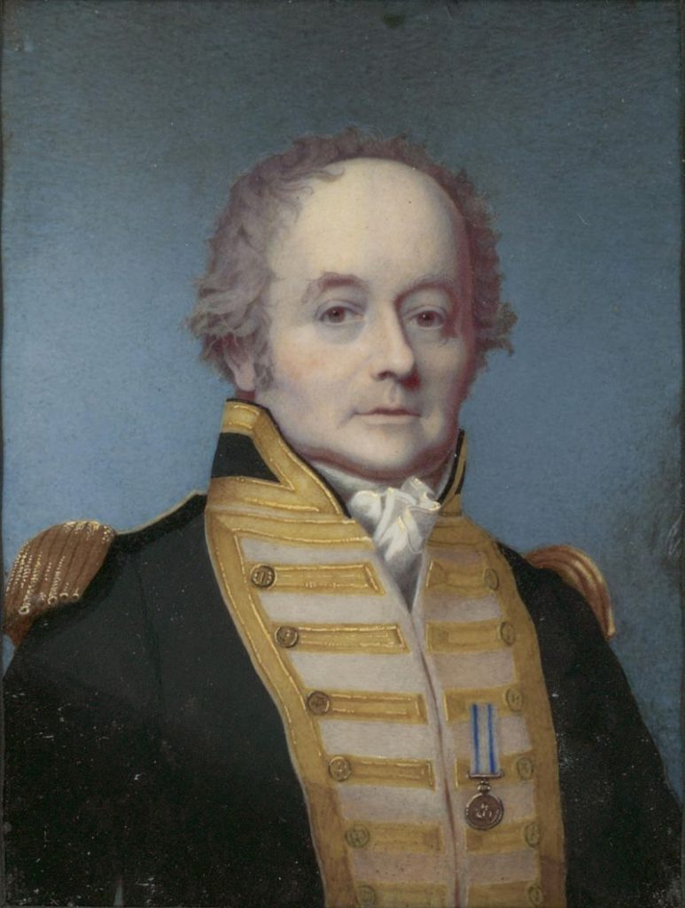 Kapitan William Bligh.